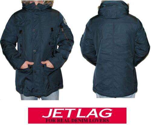 Rs Jet Herren Warme Lag Jacke Winterjacke Parka 136 Blau Navy wBwfqg8Ax