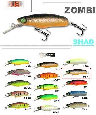 1 x Duel Zombi Crank-2 F819-BDSH Floating Fishing Bait Lure 6cm 7g