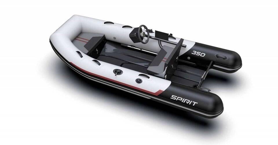 Gummibåd, Aqua Spirit 350C - 20 HK Yamaha, årg. 2020