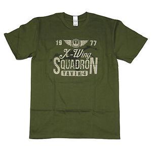 Star-Wars-Inspirado-Camiseta-gt-X-Wing-gt-100-Algodon-S-gt-5XL-gt-serigrafiados