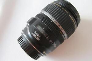 Canon-EF-S-17-85mm-f-4-0-5-6-EF-IS-Bildstabilisator-USM-Objektiv-Schwarz-billig
