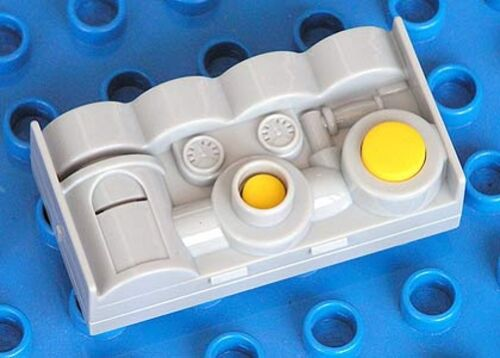 Lt Gray LEGO Duplo Sound Effects Brick 2 x 4 with Water and Pump Sounds