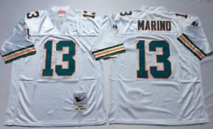 NEU Dan Marino Miami Dolphins NFL Jersey Herren VintageFootball Trikot