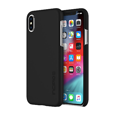 Incipio Feather Case Apple iPhone Xs/X schwarz