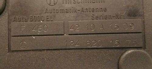 Mercedes Benz 90-93 190E Chassis Rebuilt Hirschmann Power Antenna 124 820 1675