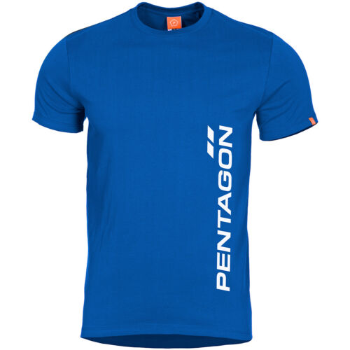 Pentagon Ageron T-shirt Pentagon Vertical Athletic Mens Running Liberty Blue