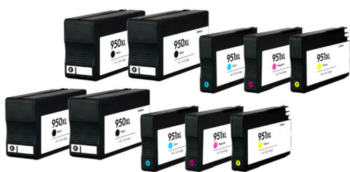 Compatible For hp 950XL 951XL Ink Cartridge Fits HP OfficeJet Pro 8620 8630-10p