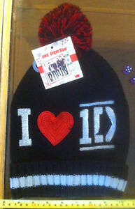 One-Direction-1D-Quality-Warm-Bobble-Hat-Claire-039-s-Claires-Accessories-16-RRP