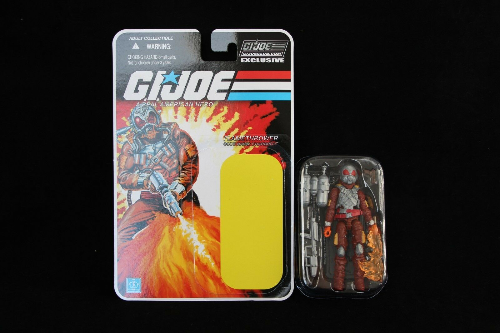 GI Joe 2014 Collector's Club FSS 4.0 Flamethrower Charbroil Figure New Complete