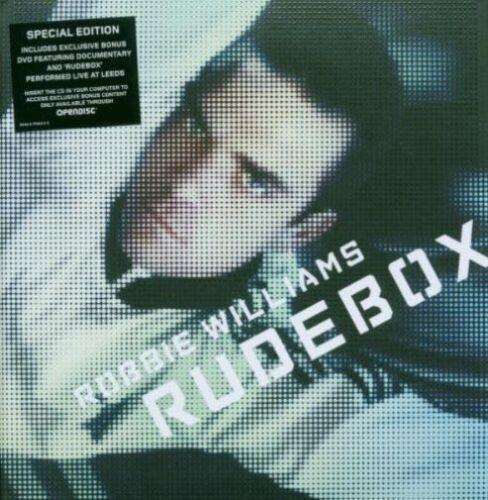 1 of 1 - ROBBIE WILLIAMS Rudebox CD Special Edition + DVD - Digipak