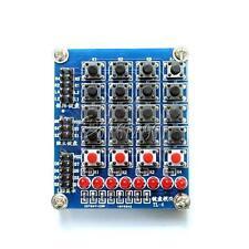 4x4 Matrix Array/Matrix Keyboard 16 Key Switch Keypad for Arduino+8 LED+4 Button