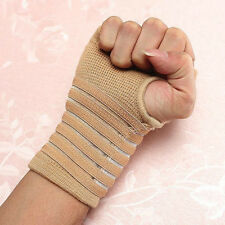 1pc Elastic power Palm Wrap Hand Brace Support Wrist Sleeve Band For Gym
