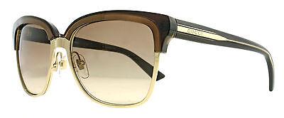 Gucci GG 4246/S 015T/SI Gold Brown Gradient Women Wayfarer Sunglasses