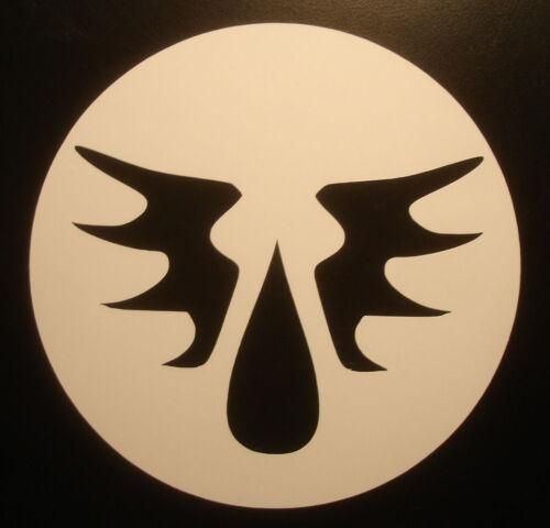 Space Marine Bloodangel 40k Warhammer RPG Blood Angel logo cut vinyl sticker