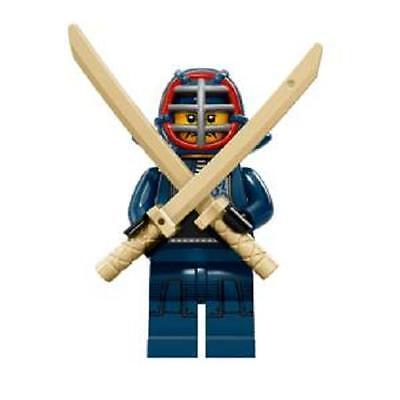 Genuine Lego 71011 Minifigure series 15 w// Poster no.12 Kendo Fighter
