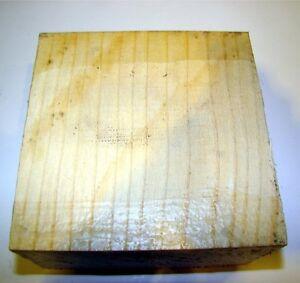 IndéPendant Frêne 10x10x6, 5cm Bois, Frêne, Tournage, Bois De Tournage Klotz 1m = CaractèRe Aromatique Et GoûT AgréAble