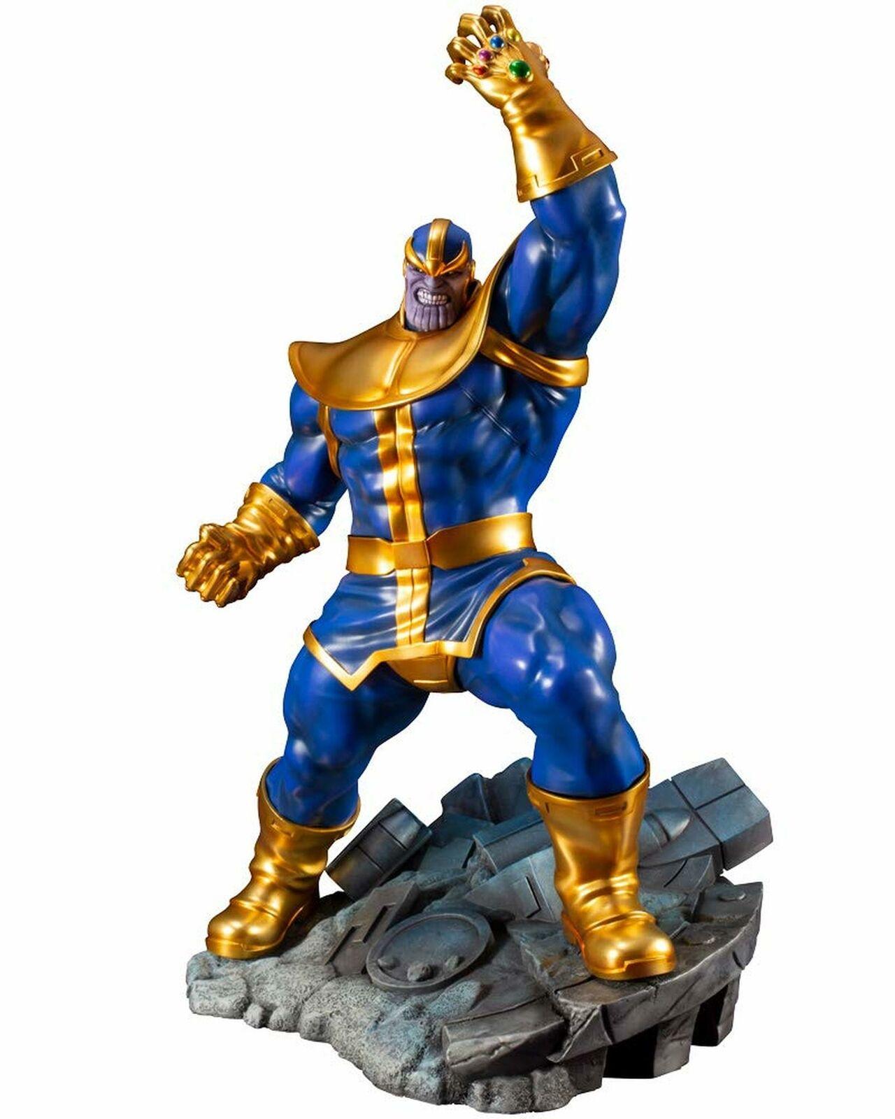 Marvel Comics Avengers Thanos  Infinity Gauntlet ARTFX + Statues 1 10 Kotobukiya  produit de qualité d'approvisionnement