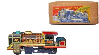 "C.lokomotive "" Moving Kolben Radient Verpackt Vintage Selten Japanisch Blech Litho N.y Autos & Lkw"