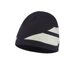Babolat Beanie Hat-bleu Foncé & Blanc-taille Unique *** Nouveau ***-afficher Le Titre D'origine