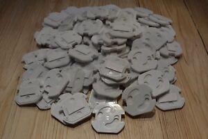 100 Stück Kindersicherung Steckdose Steckdosenschutz Steckdosen Kinderschutz