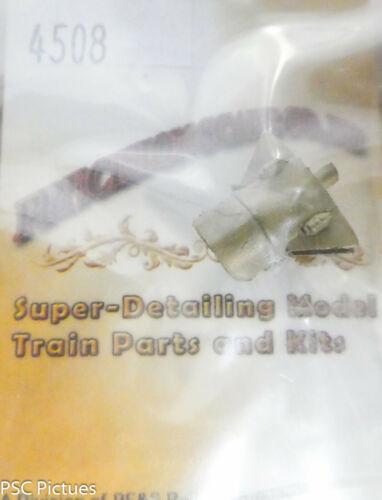 """Brass Modern Pyle Natinal Precision Scale O #4508 Headlight w//Visor 12/"""" Dia."""