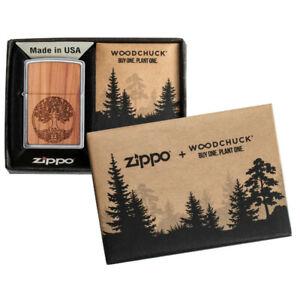 ZIPPO-Woodchuck-Echtholz-Feuerzeug-Limited-Editon-60005083