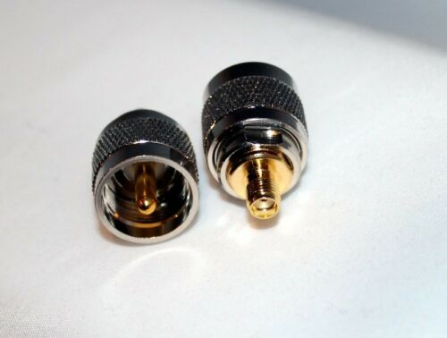 UHF PL259 Male Plug to SMA Female RF Connector Adapter; Fast Shipping; US Seller