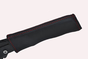 red-stitching-FITS-MERCEDES-SLK-R170-96-04-HANDBRAKE-HANDLE-COVER-ONLY