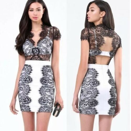 Bebe Lace Bralette Dress