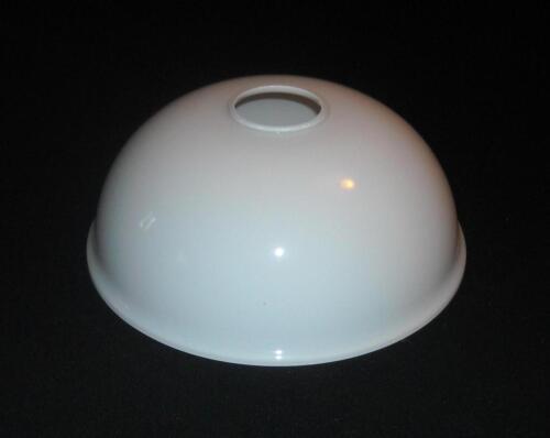 K0536 Lampenschirm Glas Glasschirm weiß Ersatz E27 Ø ca 20,7 cm