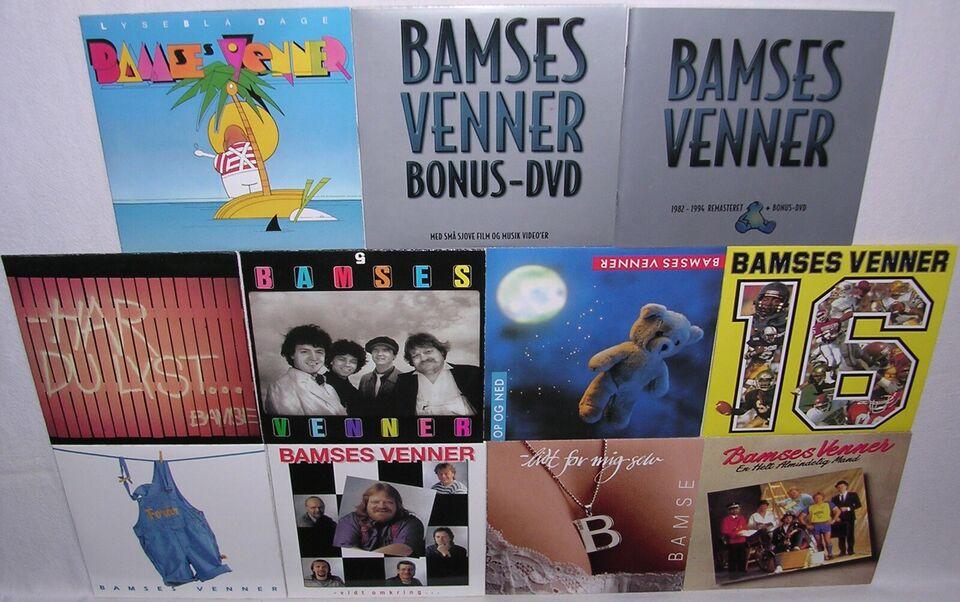 Bamses Venner: Komplet 1973-1994, pop