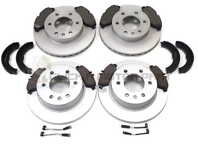MERCEDES SPRINTER 2006-2016 REAR 2 BRAKE DISCS /& PADS SET NEW VENTED DISCS