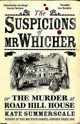 The Suspicions of Mr. Whicher, Kate Summerscale | Paperback Book | Acceptable |