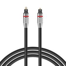 2m OPTICAL CABLE DIGITAL AUDIO LEAD TOSLink  SKY DTS SURROUND SOUND VIRGIN 5mm
