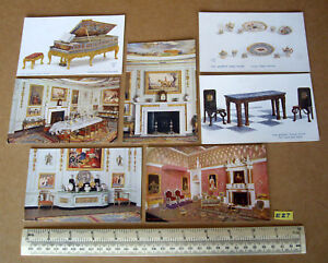 "1920 S Queen's Maison De Poupées Tuck ""oilette"" Post Cards British Empire Exhibition X7-afficher Le Titre D'origine"