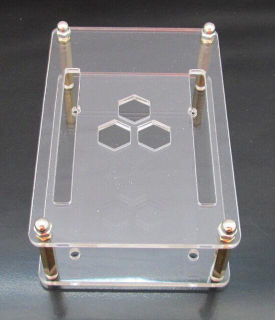 Clear Case Enclosure for Beaglebone Black Case  Half-open Frame Design