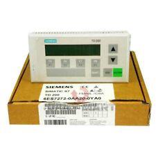 Used Amp Tested Siemens 6es7272 0aa20 0ya0 Text Display