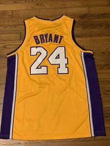 Mens Kobe bryant jersey 24 gold/purple Large | eBay