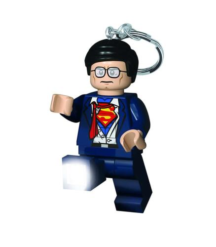 Superman Lego Super Heroes Clark Kent LedLite Antorcha Nuevo Luz Clave
