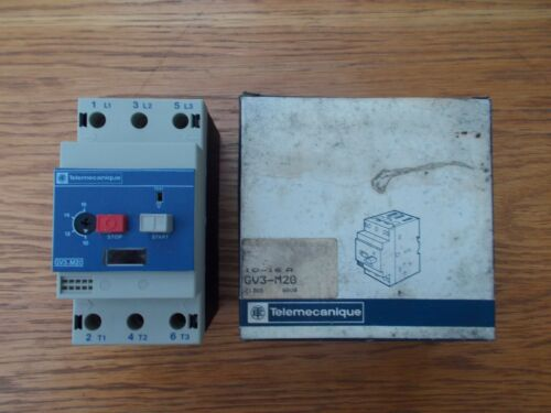 TELEMECANIQUE GV3-M20 MOTOR CIRCUIT BREAKER 10-16A
