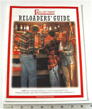 ALLIANT POWDER RELOADERS GUIDE (CAN'T FIND A DATE)