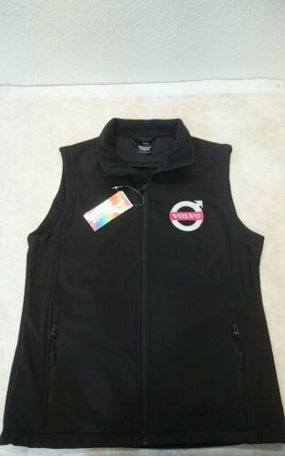WOMANS LADIES VOLVO RESULT SOFTSHELL BODYWARMER  /& EMBROIDERED LOGOS