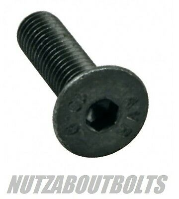 m3/4/5/6/8mm socket CSK/Countersunk black 10.9 high tensile steel bolts/screws