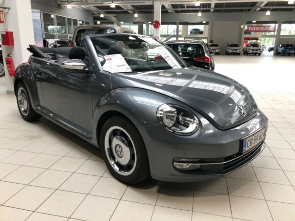 VW The Beetle 1,2 TSi 105 Design Cabriolet - billede 1