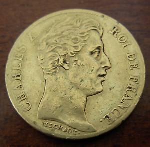 France-1828A-or-20-Francs-Charles-X-XF-Au