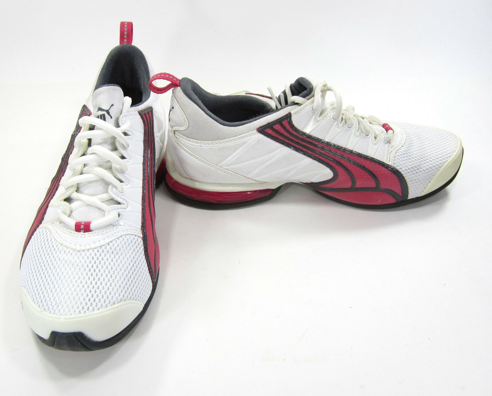 Puma Schuhes Voltaic 2 Running WEISS/Gray/Grape Sneakers Damenschuhe 8