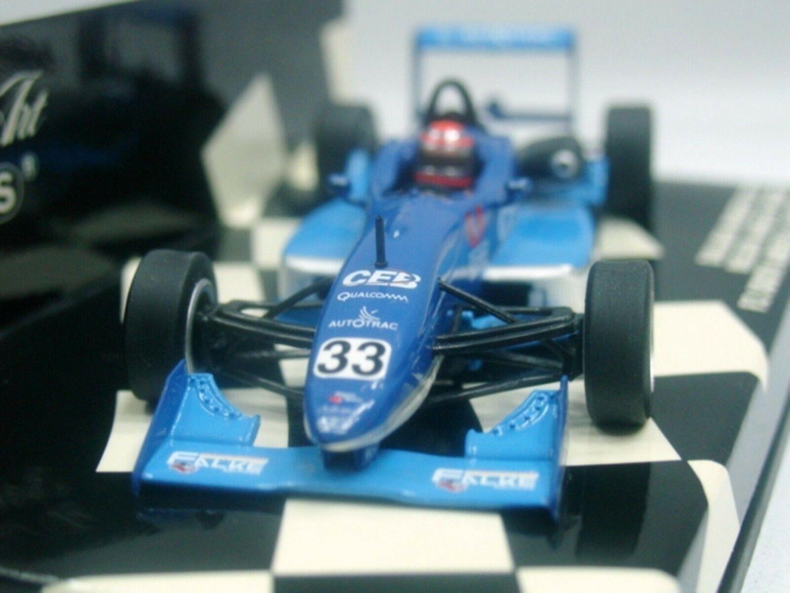 Wow extrêmement rare Dallara F301 Mugen Piquet Jacarepagua 2002 F3 1 43 Minichamps