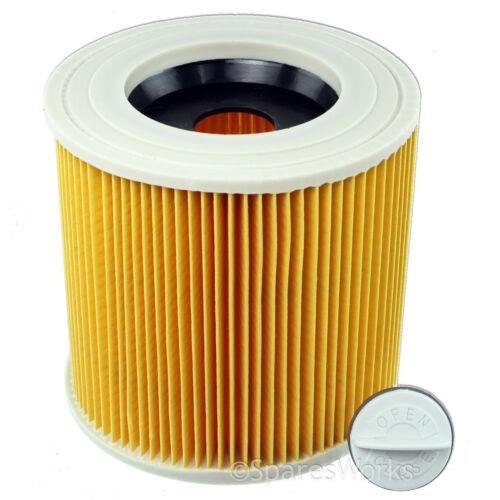 KARCHER Wet /& Dry Filtro Aspirapolvere Cartuccia 10 Sacchetti Hoover a2074pt wd2.200 ipx4