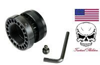 Milspec Steel Barrel Nut W/ Steel Jam Nut Ring For Free Float Quad Rail 223/556