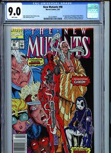 New-Mutants-98-Marvel-CGC-9-0-VF-NM-Rob-Liefeld-1st-Deadpool-Gideon-Domino-K2
